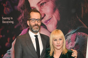 """Eric White and Patricia Arquette attend Hulu's """"The Act"""" New York Premiere at The Whitby Hotel on March 14, 2019 in New York City."""