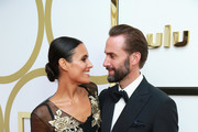 (L-R) Maria Dolores Dieguez and Joseph Fiennes attend Hulu's 2018 Emmy Party at Nomad Hotel Los Angeles on September 17, 2018 in Los Angeles, California.