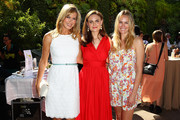 (L-R) NY Times Best Selling Author/Health & Wellness Activist Kathy Freston, Actor Emily Deschanel and E! News Correspondent Ashlan Gorse attend The Humane Society of the United States' Veg Appetit at Smogshoppe on June 16, 2013 in Los Angeles, California.
