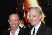 Director Francis Lawrence (R) and producer Jon Kilik attend a special screening of 'The Hunger Games: Catching Fire' on November 20, 2013 in New York City.