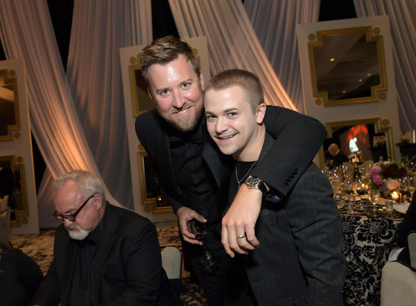 The T.J. Martell Foundation Nashville Best Cellars 2019 [event,fashion,fun,formal wear,suit,photography,ceremony,smile,flash photography,charles kelley,hunter hayes,the t.j.,t.j.,martell foundation nashville best cellars,martell foundation nashville best cellars 2019,nashville,tennessee,lady antebellum,event]
