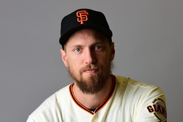 Hunter Pence San Francisco Giants Photo Day