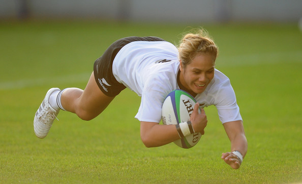 New Zealand v France-IRB Womens Rugby World Cup Semi Final