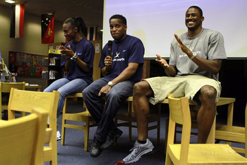 Ato Bolden IAAF 'Day In The Life' With David Oliver