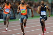 Asafa Powell and Richard Thompson Photos Photo