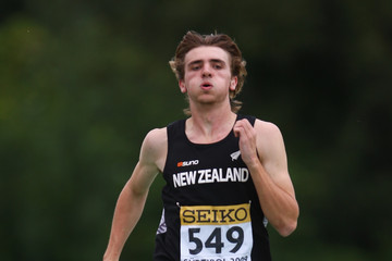 Frazer Wickes IAAF World Youth Championships - Day Two