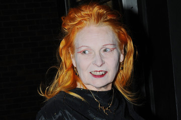Dame Vivienne Westwood The ICA Fundraising Gala - Outside Arrivals