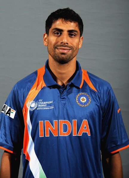 Ashish Nehra Ashish Nehra poses during the ICC Champions photocall session of the Indian cricket team at Sandton Sun on September 19, 2009 in Sandton, South Africa.