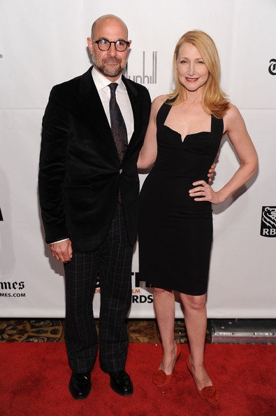 Actors Stanley Tucci and Patricia Clarkson attend IFP's 20th Annual Gotham Independent Film Awards at Cipriani, Wall Street on November 29, 2010 in New York City.
