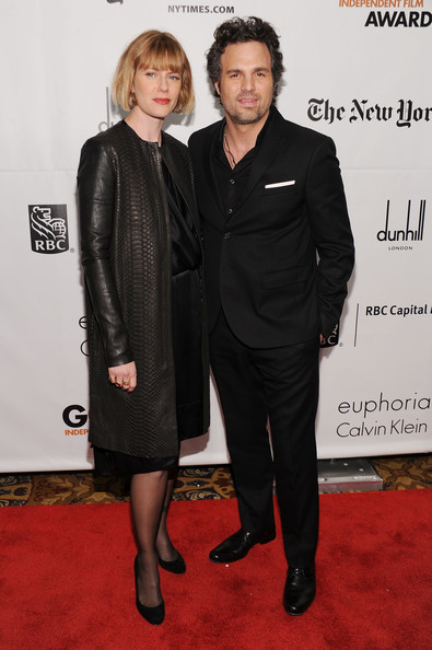 Actor Mark Ruffalo (R) and Sunrise Coigney attend IFP's 20th Annual Gotham Independent Film Awards at Cipriani, Wall Street on November 29, 2010 in New York City.