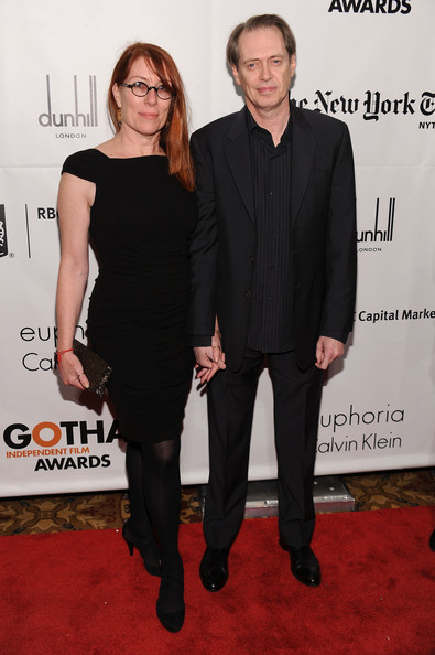 Jo Andres and actor Steve Buscemi attend IFP's 20th Annual Gotham Independent Film Awards at Cipriani, Wall Street on November 29, 2010 in New York City.