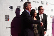 Michael Barker, Joana Vicente and Tom Bernard attend IFP's 27th Annual Gotham Independent Film Awards at Cipriani, Wall Street on November 26, 2018 in New York City.