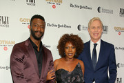 Aldis Hodge, Alfre Woodard and Executive Director of IFP and the Made in New York Media Center by IFP Jeff Sharp attend the IFP's 29th Annual Gotham Independent Film Awards at Cipriani Wall Street on December 02, 2019 in New York City.