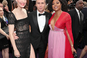 Leslie Bibb, Sam Rockwell and Taraji P. Henson attend IMDb LIVE After the Emmys Presented by CBS All Access on September 22, 2019 in Los Angeles, California.