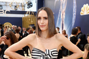 Presenter Louise Roe attends the 70th Annual Primetime Emmy Awards at Microsoft Theater on September 17, 2018 in Los Angeles, California.