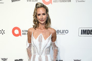 Lady Victoria Hervey walks the red carpet at the Elton John AIDS Foundation Academy Awards Viewing Party on February 09, 2020 in Los Angeles, California.