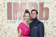 Olivia Jordan (L) and Jay Hector attend the IMDb LIVE Viewing Party on March 4, 2018 in Los Angeles, California.