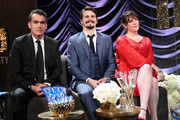 Actors (L-R) Brian d'Arcy James, Jason Ritter, and Melanie Lynskey attend IMDb LIVE Viewing Party, presented by OREO chocolate candy bar on February 26, 2017 in Hollywood, California.