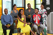 "(L-R) Director Barry Jenkins, Regina King, KiKi Layne,Colman Domingo,Stephan James and Teyonah Parris of ""If Beale Street Could Talk"" attend The IMDb Studio presented By Land Rover At The 2018 Toronto International Film Festival at Bisha Hotel & Residences on September 9, 2018 in Toronto, Canada."