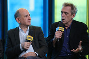 Director Armando Iannucci and actor Hugh Laurie of 'The Personal Story of David Copperfield' attend The IMDb Studio Presented By Intuit: QuickBooks Canada at the 2019 Toronto International Film Festival at Bisha Hotel & Residences on September 06, 2019 in Toronto, Canada.