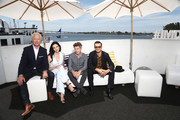 Neal McDonough, Laura Mennell,Aidan Gillen and Michael Malarkey attend the #IMDboat At San Diego Comic-Con 2018: Day Three at The IMDb Yacht on July 21, 2018 in San Diego, California.