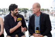 Frank Lesser and Kelsey Grammer speak onstage at the #IMDboat at San Diego Comic-Con 2019: Day Three at the IMDb Yacht on July 20, 2019 in San Diego, California.
