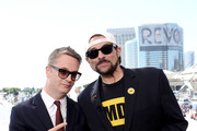 Nicolas Winding Refn and Kevin Smith attend the #IMDboat at San Diego Comic-Con 2019: Day Three at the IMDb Yacht on July 20, 2019 in San Diego, California.