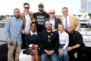 Percy Daggs III, Jason Dohring, Ryan Hansen, Enrico Colantoni, Rob Thomas, Kirby Howell-Baptiste, Kevin Smith, Kristen Bell and Francis Capra attend the #IMDboat at San Diego Comic-Con 2019: Day Two at the IMDb Yacht on July 19, 2019 in San Diego, California.