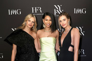 Chanel Iman and Nadine Leopold Photos Photo