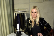 Writer Morgan Stewart attends NYFW: The Shows Celebration hosted by Amazon Echo Look on February 11, 2018 in New York City.