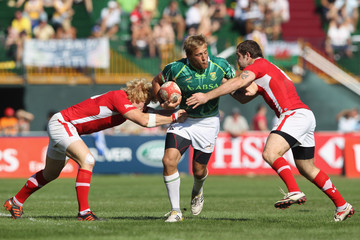 Rhys Shellard IRB Dubai Sevens - Day Three