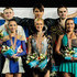 Tatiana Volosazhar Photos - (L-R) Vera Bazarova and Yuri Larionov (silver) of Russia, Tatiana Volosazhar and Maxim Trankov (gold) of Russia and Ksenia Stolbova and Fedor Klimov of Russia (bronze) celebrate on the podium with their medals after the Pairs Free Skating during the ISU European Figure Skating Championships at Motorpoint Arena on January 26, 2012 in Sheffield, England. - ISU European Figure Skating Championships