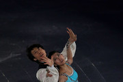 Jian Tong and Qing Pang of China perform their routine in the ISU Gala during day four of the ISU Grand Prix of Figure Skating Final 2013/2014 at Marine Messe Fukuoka on December 8, 2013 in Fukuoka, Japan.