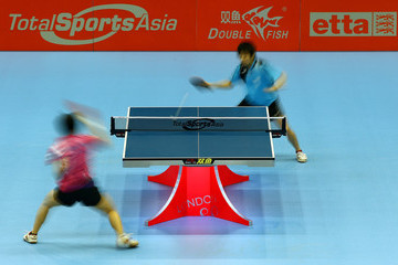 I-Ching Cheng ITTF Pro Tour Table Tennis Grand Finals: Day One - LOCOG Test Event for London 2012