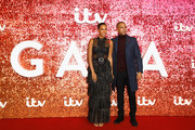 Rochelle Humes and Marvin Humes arriving at the ITV Gala held at the London Palladium on November 9, 2017 in London, England.