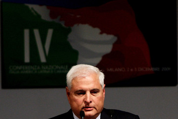 Ricardo Martinelli IV National Conference On  Italy - Latin America And The Caraibean