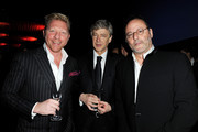 Arsene Wenger and Boris Becker Photos Photo
