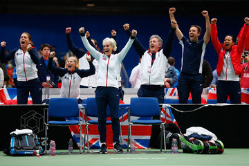 Iain Bates Fed Cup Europe/Africa Group One: Day 3