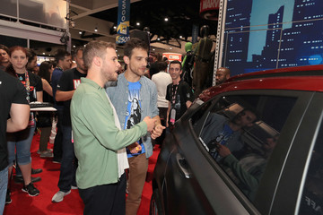 Iain De Caestecker Hyundai Kona Iron Man At San Diego Comic-Con 2018 - Day 3