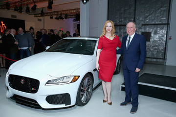 Ian Callum Jaguar Land Rover Exclusive Reception To Celebrate 2015 New York Auto Show