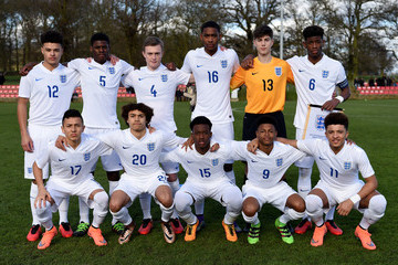 Ian Carlo Poveda England v Czech Republic - U16s International Friendly