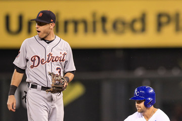 Ian Kinsler Detroit Tigers v Kansas City Royals