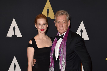 Ian McKellen Laura Linney Academy of Motion Picture Arts and Sciences' 7th Annual Governors Awards - Arrivals
