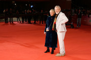Ian McKellen and President of the festival Piera Detassis walk a red carpet for 'Ian McKellen: Playing The Part' during the 12th Rome Film Fest at Auditorium Parco Della Musica on November 1, 2017 in Rome, Italy.