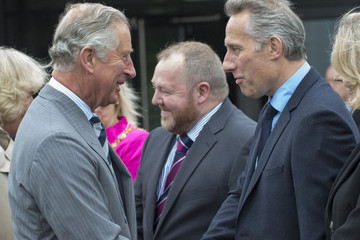 Ian Paisley Jr Prince of Wales and The Duchess of Cornwall's Irish Trip Day Four