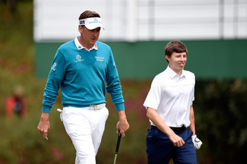Ian Poulter Matthew Fitzpatrick The Masters - Preview Day 2