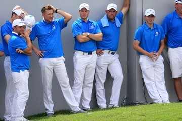 Ian Poulter Matthew Fitzpatrick EurAsia Cup presented by DRB-HICOM - Day Two