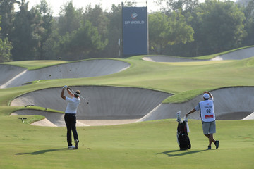 Ian Poulter DP World Tour Championship - Day One