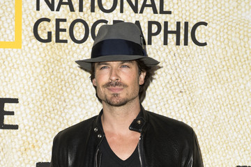 Ian Somerhalder Premiere Of National Geographic's 'The Long Road Home' - Arrivals
