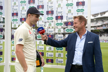 Ian Ward England vs. India: Specsavers 2nd Test - Day Four